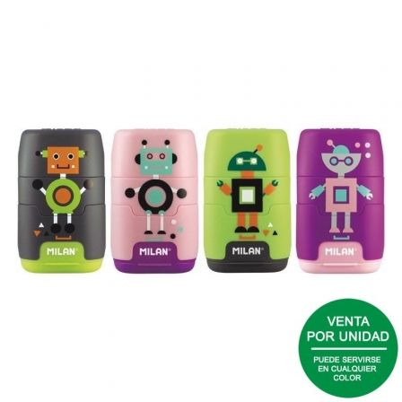 Afilaborra Milan Compact Happy Bots/ Doble/ Colores Surtidos