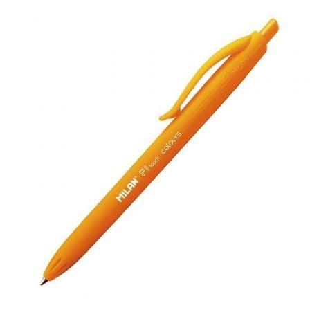 Bolígrafo de Tinta de Aceite Retráctil Milan P1 Touch Colours 176554212/ Naranja