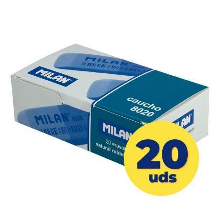 Goma de Borrar Doble Intensidad Milan CCM8020/ 20 unidades
