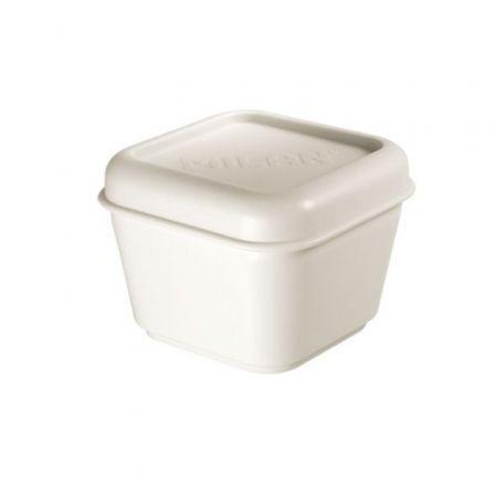 Porta Alimentos Milan 085111W/ Capacidad 0.33L/ Blanco