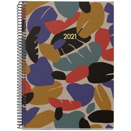 Agenda Anual 2021 Miquel Rius Recycled Hojas Activa Classic