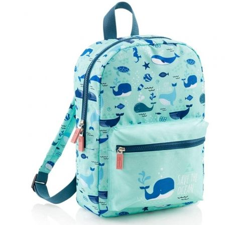 Mochila Miquel Rius Whale Mini Save The Ocean/ Capacidad 7L