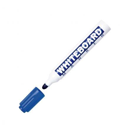Rotulador Punta Redonda para Pizarra Molin RWB230-12-3/ 3mm/ Azul
