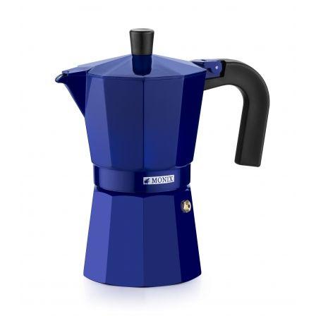 Cafetera Italiana Monix M301706/ 6 Tazas/ Azul