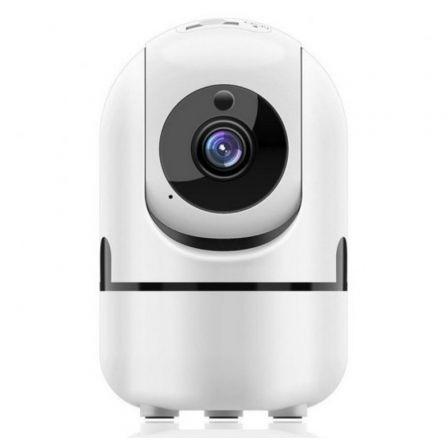 Cámara de Videovigilancia Muvit IO MIOACAM002/ 360º/ Visión Nocturna/ Control desde APP