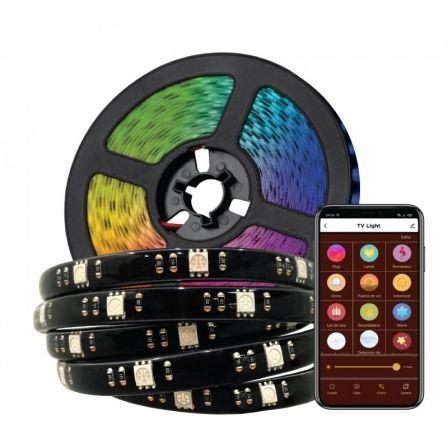 Tira LED Muvit IO MIOLST005/ 3m/ Color RGB/ Regulable