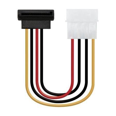 Cable de Alimentación SATA Nanocable 10.19.0201-OEM/ Molex Macho - SATA Hembra/ 16cm