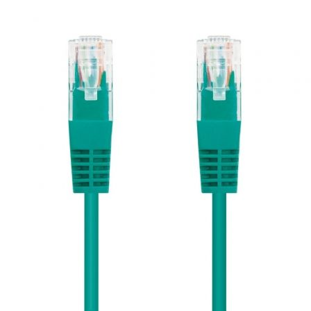 Cable de Red RJ45 UTP Nanocable 10.20.0102-GR Cat.5e/ 2m/ Verde
