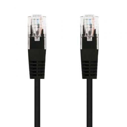 Cable de Red RJ45 UTP Nanocable 10.20.0105-BK Cat.5e/ 5m/ Negro