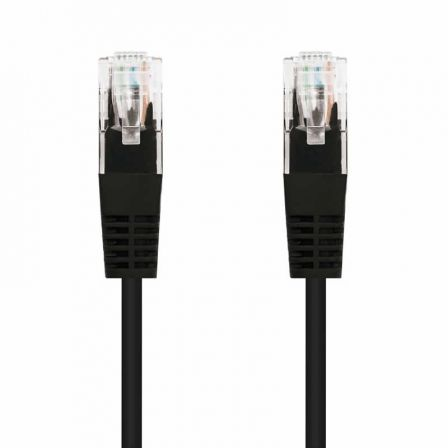 Cable de Red RJ45 UTP Nanocable 10.20.0403-BK Cat.6/ 3m/ Negro
