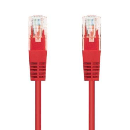 Cable de Red RJ45 UTP Nanocable 10.20.0403-R Cat.6/ 3m/ Rojo
