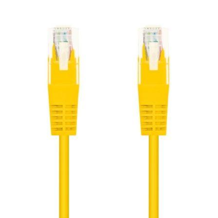 Cable de Red RJ45 UTP Nanocable 10.20.0403-Y Cat.6/ 3m/ Amarillo