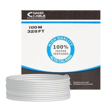 Bobina Cable RJ45 CAT6 FTP 100Mts 100% Cobre