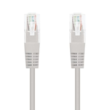 Cable de Red RJ45 UTP Nanocable 10.20.0401 Cat.6/ 1m/ Gris