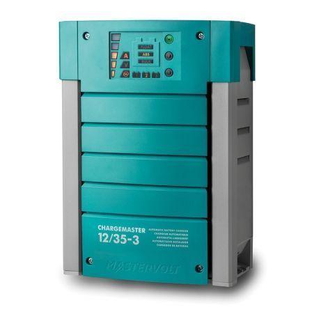 Cargador de Baterías Mastervolt ChargeMaster 12/35-3/ 12V/ 35 A/ 3 Salidas