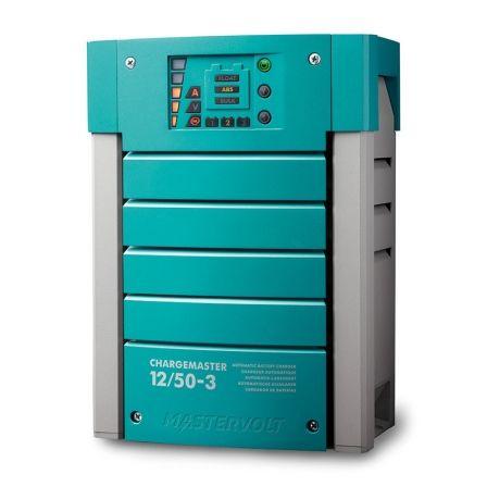 Cargador de Baterías Mastervolt ChargeMaster 12/50-3/ 12V/ 50 A/ 3 Salidas
