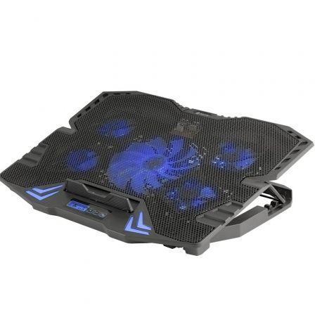 Soporte Refrigerante NGS Gaming Cooler GCX-400 para Portátiles hasta 15.6