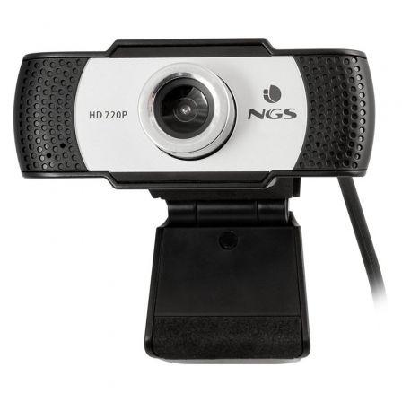 Webcam NGS Xpress Cam 720/ 1280 x 720 HD/ Blanco y Negro