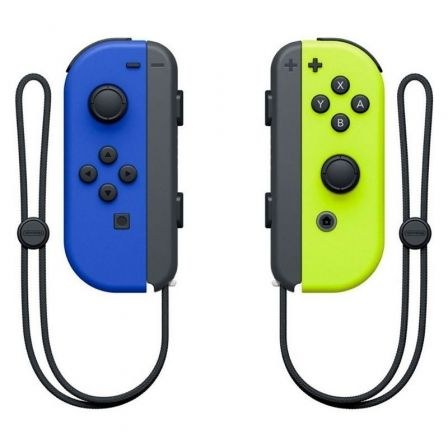Mandos Inalámbricos Nintendo Joy-Con para Nintendo Switch/ Azul y Amarillo Neón