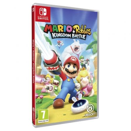 Juego Para Consola Nintendo Switch Mario Rabbids Kingdom Depau