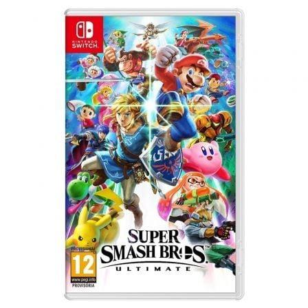Juego para Consola Nintendo Switch Super Smash Bros Ultimate