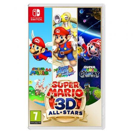 Juego para Consola Nintendo Switch Super Mario 3D All-Stars (Super Mario 64 + Super Mario Sunshine + Super Mario Galaxy)