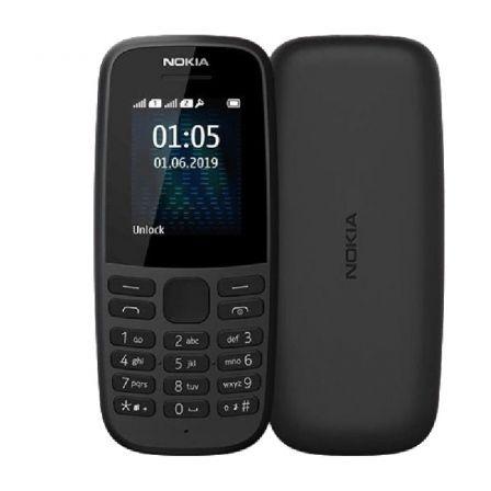 Teléfono Móvil Nokia 105 4TH Edition/ Negro