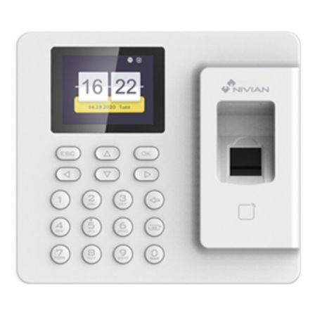 Controlador de Presencia Nivian NV-TIMECONTROL-IP