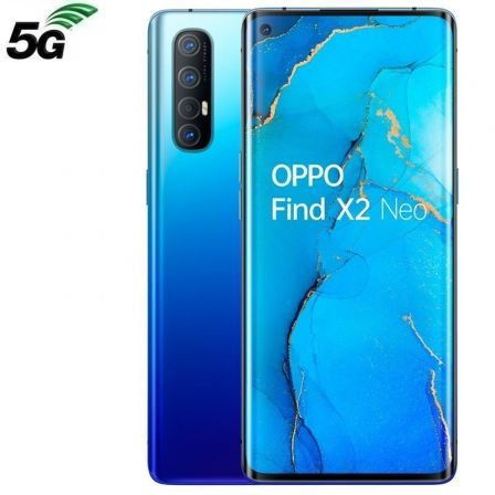 "SMARTPHONE MÓVIL OPPO FIND X2 NEO STARRY BLUE - 6.5""/16.5CM - QUALCOMM SDM765G - 12GB RAM - 256GB - CAM (48+13+8+2)/32MP - 5G - ANDROID - 4025MAH"