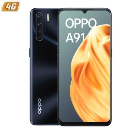 """Smartphone Oppo A91 8GB/ 128GB/ 6.4""""/ Negro Deslumbrante"""