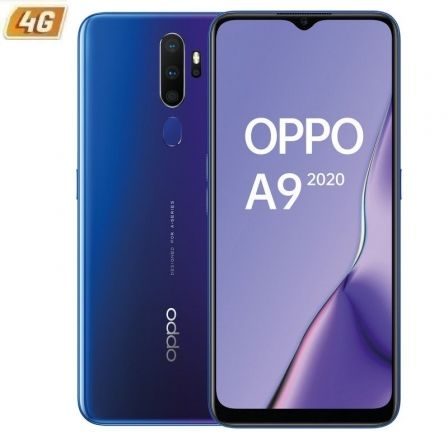 "SMARTPHONE MÓVIL OPPO A9 2020 SPACE PURPLE - 6.5""/16.5CM - SNAPDRAGON 665 - 4B RAM - 128GB - CAM (48+8+2+2)/16MP - 4G - ANDROID - 5000MAH"