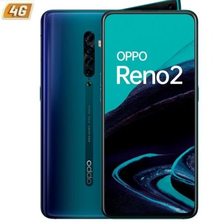 "SMARTPHONE MÓVIL OPPO RENO 2 OCEAN BLUE - 6.5""/16.5CM - SNAPDRAGON 730G - 8GB RAM - 256GB - CAM (48+8+13+2)/16MP - 4G - ANDROID - 4000MAH"