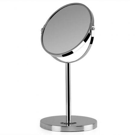 Espejo Cosmético Orbegozo ES 5100/ Doble Cara/ Ø 17cm
