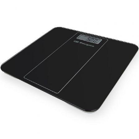 Báscula de Baño Orbegozo PB-2219/ Hasta 180kg/ Negra