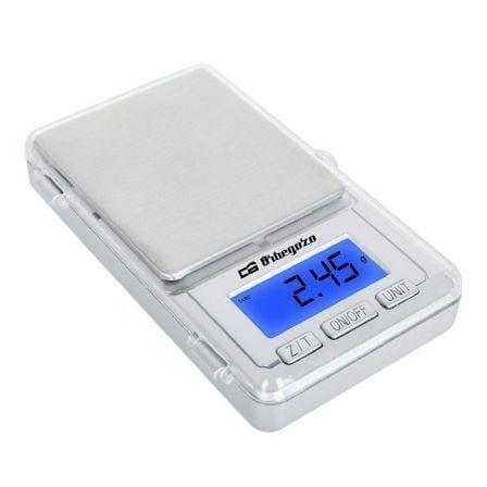 Báscula de Cocina Electrónica Orbegozo PC 3000/ hasta 100g/ Plata