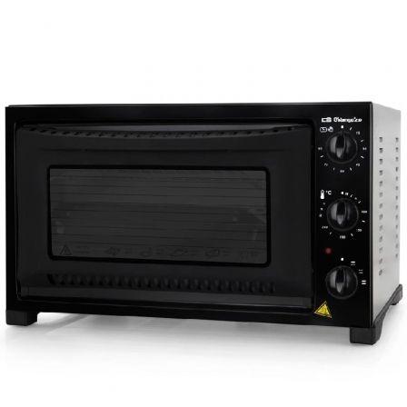Horno de Sobremesa Orbegozo HO 321/ 1300W/ Capacidad 32L/ Negro
