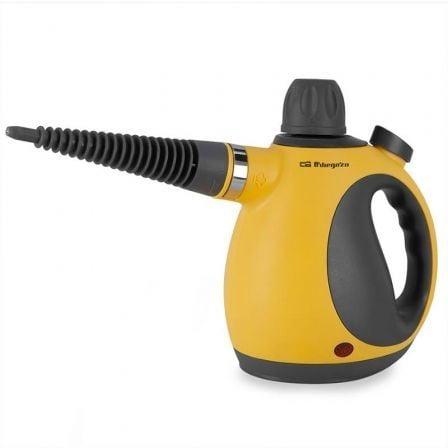 Limpiador de Vapor Orbegozo Vaporetino LV3580/ 1050W/ Depósito 350ml