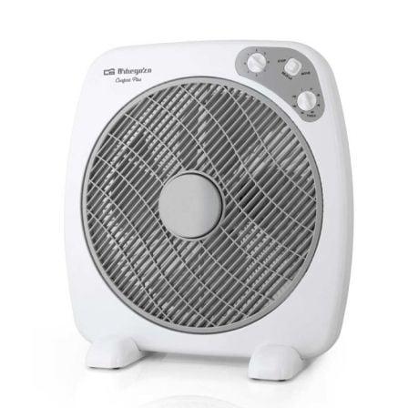 Ventilador de Suelo Orbegozo Box Fan BF 0140/ 60W/ 4 Aspas 40cm/ 3 velocidades