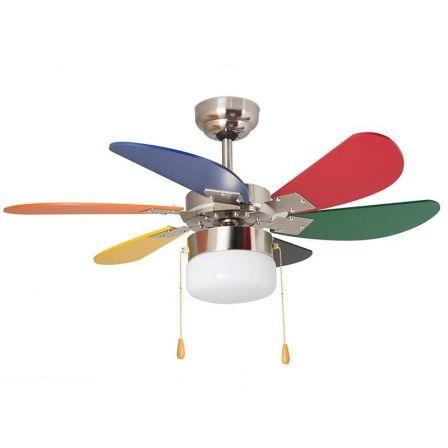Ventilador de Techo Orbegozo CC 65085/ 55W 6 Aspas 85cm/ 3 velocidades