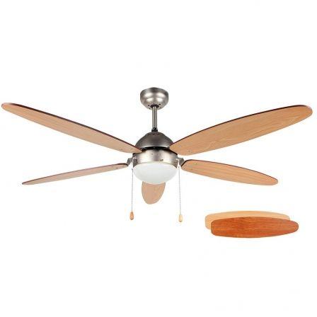Ventilador de Techo Orbegozo CP 48132/ 60W/ 5 Aspas 132cm/ 3 velocidades