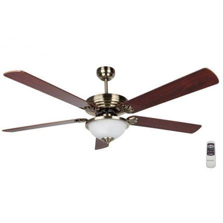 Ventilador de Techo Orbegozo CP 80142/ 70W/ 5 Aspas 142cm/ 3 velocidades