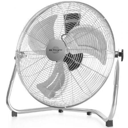 Ventilador de Suelo Orbegozo Power Fan PW 1346/ 135W/ 3 Aspas 45cm/ 3 velocidades