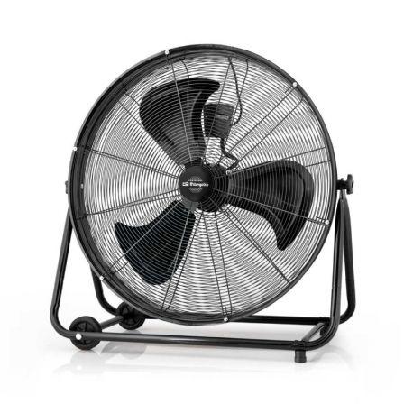 Ventilador de Suelo Orbegozo Power Fan Profesional PWT 3075/ 200W/ 3 Aspas 75cm/ 3 velocidades