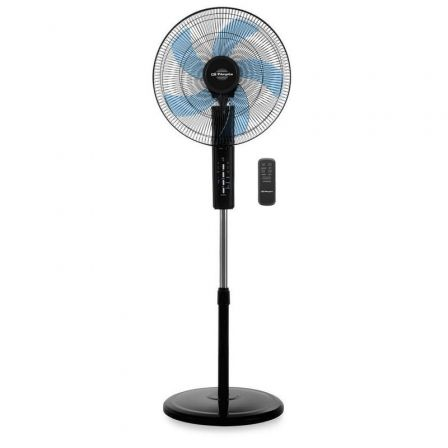 Ventilador de Pie Orbegozo SF 0345/ 80W/ 5 Aspas 45cm/ 3 velocidades