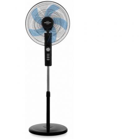 Ventilador de Pie Orbegozo SF 1045/ 80W/ 5 Aspas 45cm/ 3 velocidades