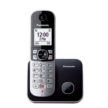 Teléfono Inalámbrico Panasonic KX-TG6851/ Negro