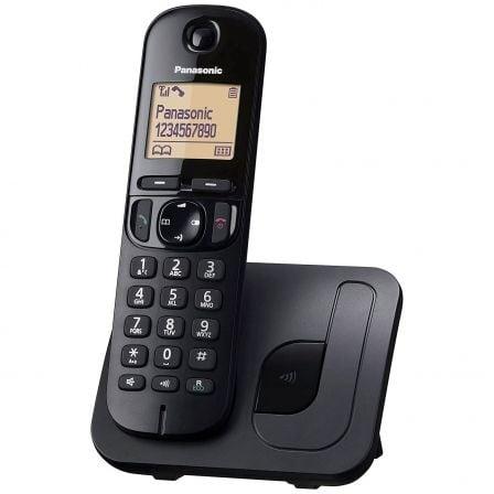 Teléfono Inalámbrico Panasonic KX-TGC210SPB/ Negro