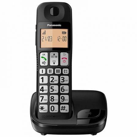 Teléfono Inalámbrico Panasonic KX-TGE310SP/ Negro