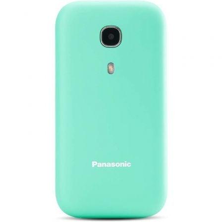 Teléfono Móvil Panasonic KX-TU400EXC para Personas Mayores/ Turquesa