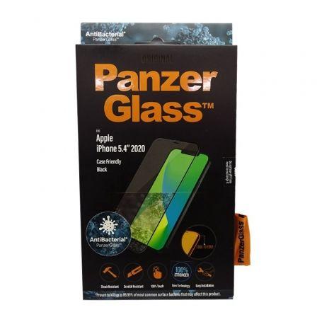Protector de Pantalla Panzerglass 2710 para iPhone 12 Mini/ Negro